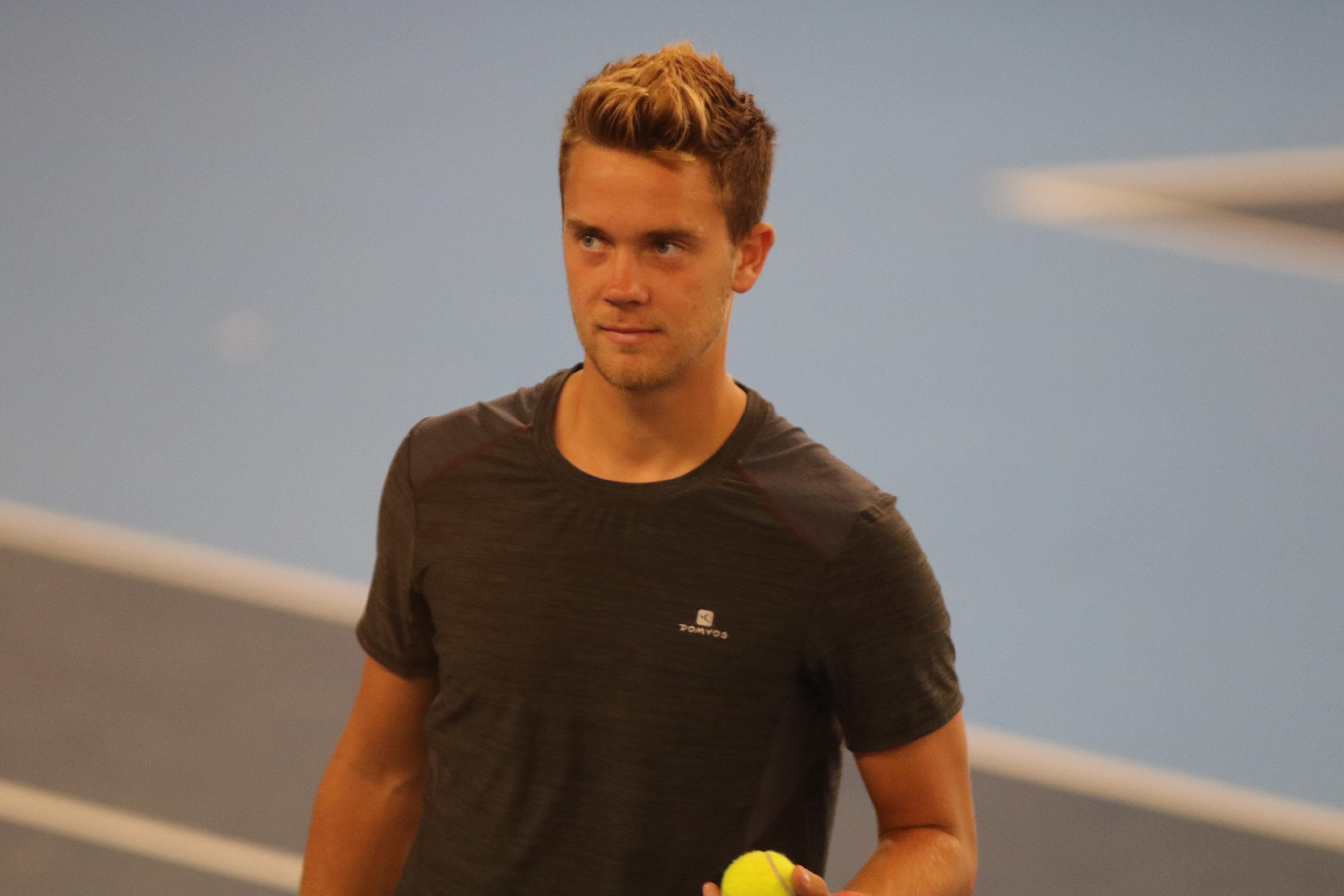 """Jeppe Johansson-Holm summerar året: """"Hade fel rackets – blev portad från tävlingen"""""""