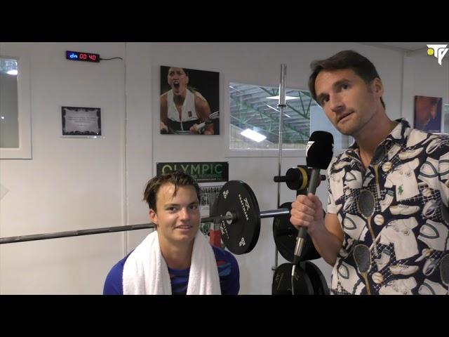 """TV: Måns Dahlberg: """"Ska bli jäkligt skoj att spela Roland Garros"""""""