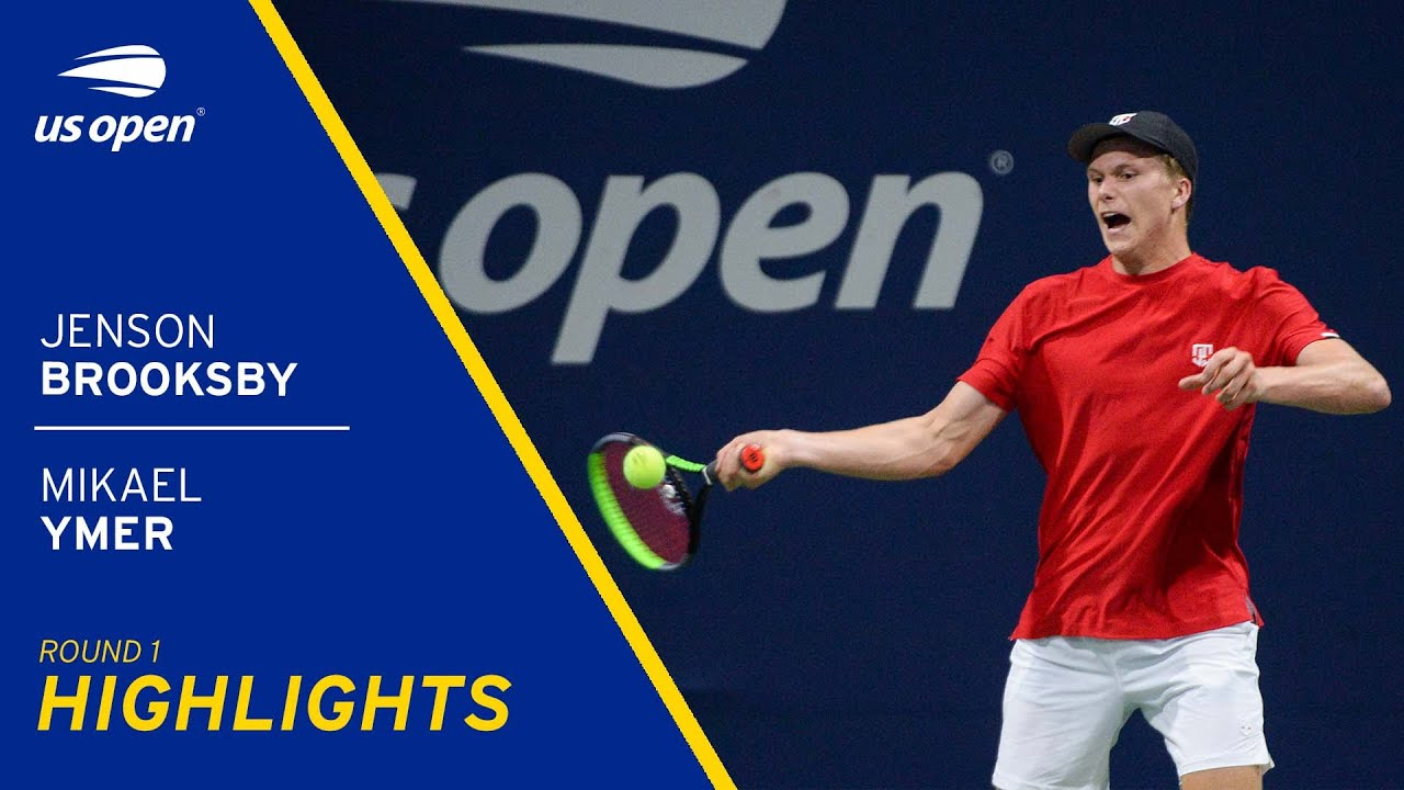 TV: Jenson Brooksby vs Mikael Ymer, US Open 2021 Highlights