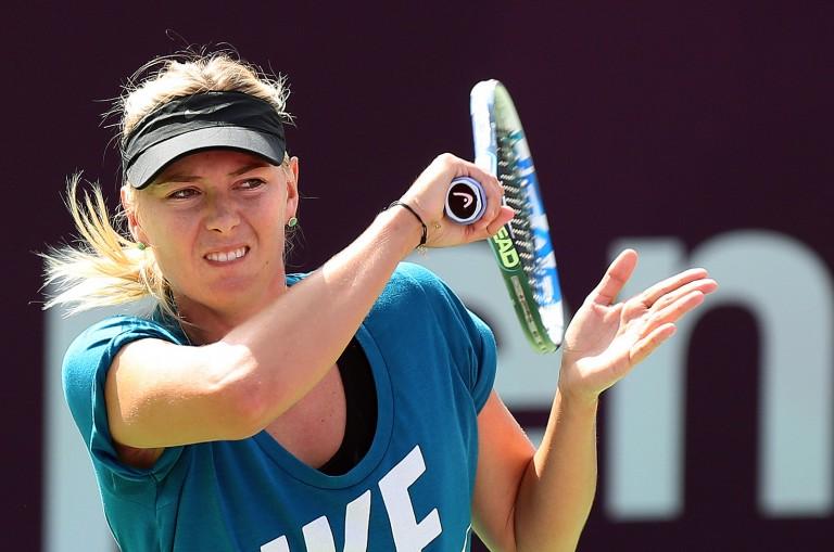 CHOCKEN: Maria Sharapova har testats positivt för doping