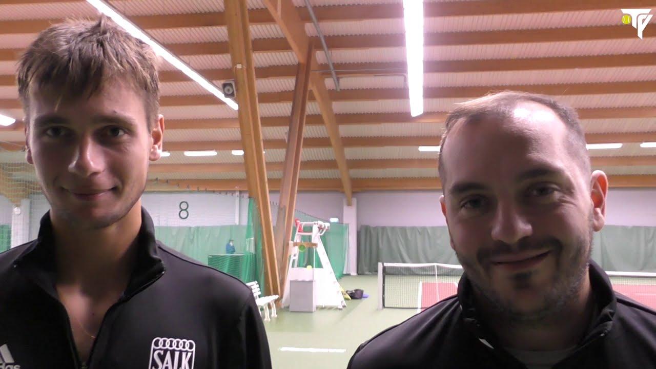 """TV: Intervjuer från SALK – Upsala Tennisklubb: """"Kul när det händer grejer"""""""