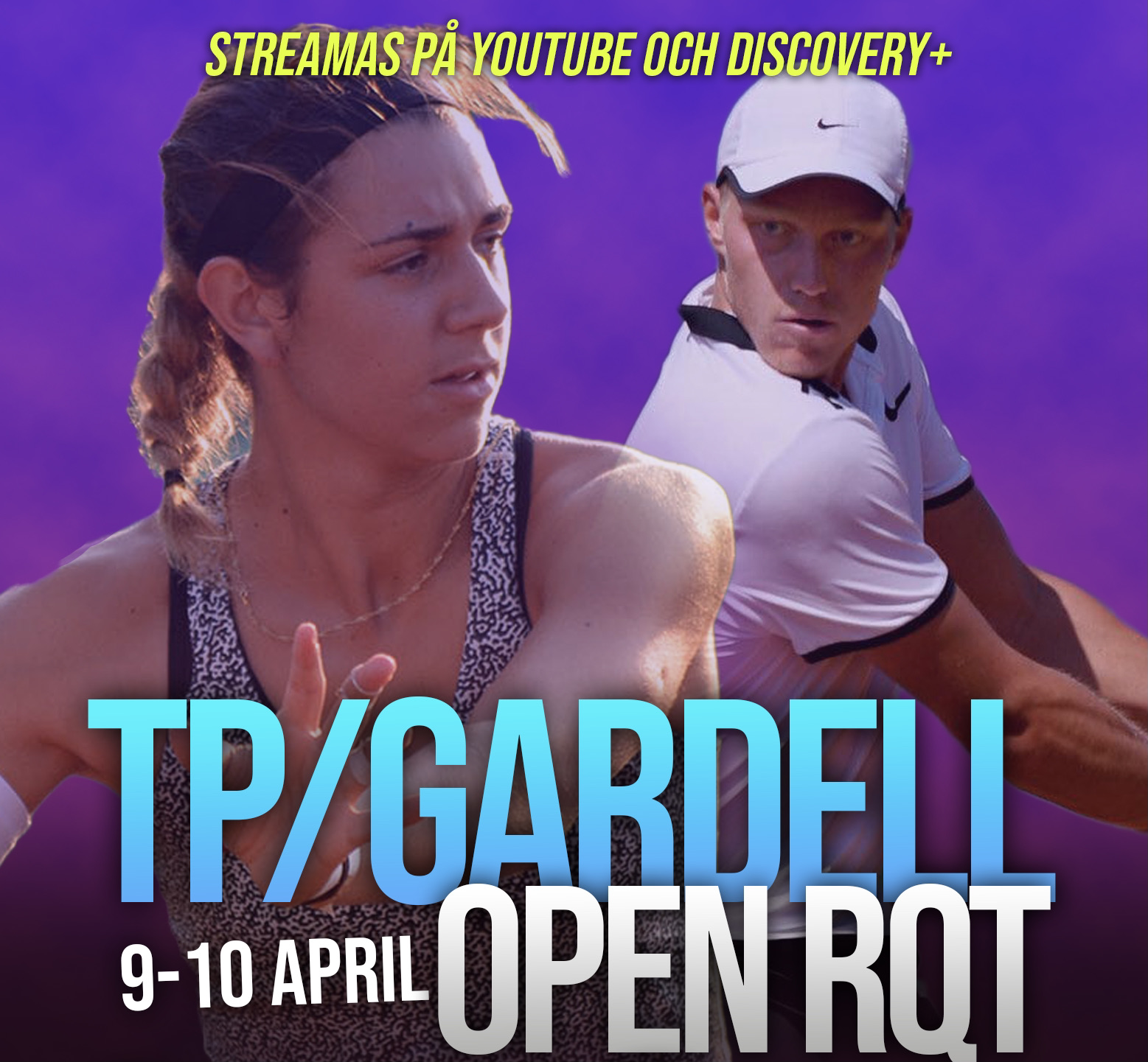"""Cabaj Awad och Bergevi affischnamn i TP/Gardell Open RQT: """"Oerhört stolta över startfältet"""""""